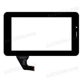 C192115A2-FPC683DR Digitizer Glass Touch Screen Replacement for 7 Inch MID Tablet PC