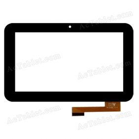 HY TPC-50200 V1.0 Digitizer Glass Touch Screen Replacement for 7 Inch MID Tablet PC