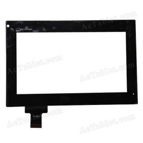 70296A0 Digitizer Glass Touch Screen Replacement for 7 Inch MID Tablet PC