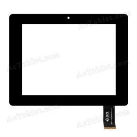 300-L3505B-A00-V1.0 Digitizer Glass Touch Screen Replacement for 8 Inch MID Tablet PC