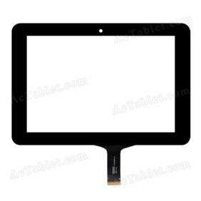 HOTATOUCH C182123A1-FPC659DR Digitizer Glass Touch Screen Replacement for 7 Inch MID Tablet PC