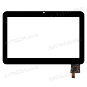 300-N3675A-A00-VER1.0 Digitizer Glass Touch Screen Replacement for 7 Inch MID Tablet PC