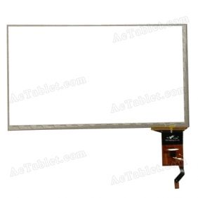 PB70DR8272-R1 Digitizer Glass Touch Screen Replacement for 7 Inch MID Tablet PC
