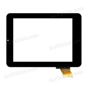 HOTATOUCH C206152A1-GG FPC620DR Digitizer Glass Touch Screen Replacement for 8 Inch MID Tablet PC