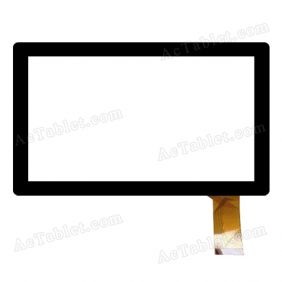YJ024FPC-V0 Digitizer Glass Touch Screen Replacement for 7 Inch MID Tablet PC