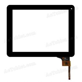 HN-DR97010 Digitizer Glass Touch Screen Replacement for 9.7 Inch MID Tablet PC