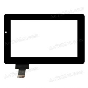 C116184B1-DRFPC068T-V2.0 Digitizer Glass Touch Screen Replacement for 7 Inch MID Tablet PC