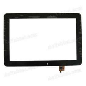 WGJ1073-V3 Digitizer Glass Touch Screen Replacement for 10.1 Inch MID Tablet PC