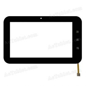 TOPSUN_C0010-A5 Digitizer Glass Touch Screen Replacement for 7 Inch MID Tablet PC