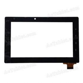 HTL DR1551-A1 Digitizer Glass Touch Screen Replacement for 7 Inch MID Tablet PC