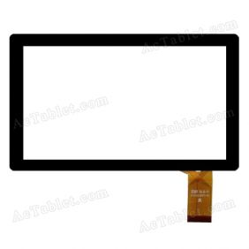 RYHC019FPC-V0 Digitizer Glass Touch Screen Replacement for 7 Inch MID Tablet PC