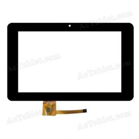 DPT 300-L4033A-A00-V1.0 Digitizer Glass Touch Screen Replacement for 7 Inch MID Tablet PC