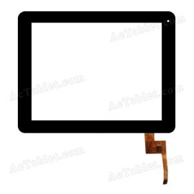 TOPSUN_E0011-A2 Digitizer Glass Touch Screen Replacement for 9.7 Inch MID Tablet PC