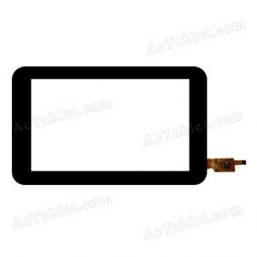 TCI07016XCJ-C-V0.1 Digitizer Glass Touch Screen Replacement for 7 Inch MID Tablet PC