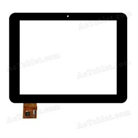 TOPSUN_D0026_A1 Digitizer Glass Touch Screen Replacement for 8 Inch MID Tablet PC