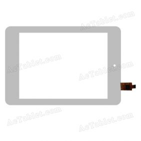 TOPSUN_D0030_A1 Digitizer Glass Touch Screen Replacement for 8 Inch MID Tablet PC