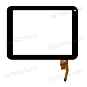 TOPSUN_D0031-A1 Digitizer Glass Touch Screen Replacement for 8 Inch MID Tablet PC
