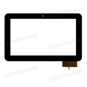 HOTATOUCH FPC698DR Digitizer Glass Touch Screen Replacement for 10.1 Inch MID Tablet PC