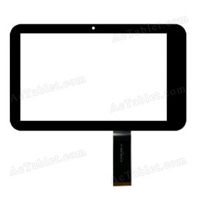 SLC07061AE0B-V0 Digitizer Glass Touch Screen Replacement for 7 Inch MID Tablet PC