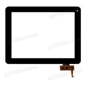 FPCA09700900-000 Digitizer Glass Touch Screen Replacement for 9.7 Inch MID Tablet PC
