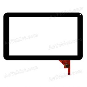 MF-195-090F-2 Digitizer Glass Touch Screen Replacement for 9 Inch MID Tablet PC