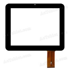 TPC0321 VER2.0 Digitizer Glass Touch Screen Replacement for 9.7 Inch MID Tablet PC