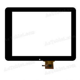 PB97DR971 Digitizer Glass Touch Screen Replacement for 9.7 Inch MID Tablet PC