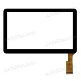 HK70DR201 Digitizer Glass Touch Screen Replacement for 7 Inch MID Tablet PC