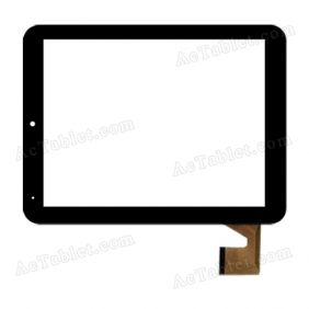 YDT1215 Digitizer Glass Touch Screen Replacement for 8 Inch MID Tablet PC