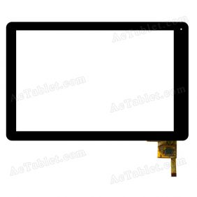 MF-580-101F Digitizer Glass Touch Screen Replacement for 10.1 Inch MID Tablet PC