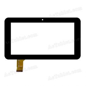 HS1182-V0 Digitizer Glass Touch Screen Replacement for 7 Inch MID Tablet PC