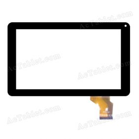 TPC0436 VER2.0 Digitizer Glass Touch Screen Replacement for 9 Inch MID Tablet PC