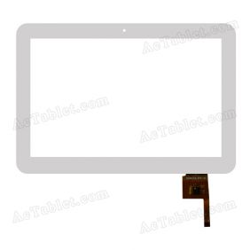SG5427A-FPC-V1 Digitizer Glass Touch Screen Replacement for 10.1 Inch MID Tablet PC