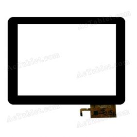 YTG-P97002-F4 Digitizer Glass Touch Screen Replacement for 9.7 Inch MID Tablet PC