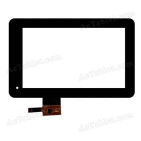 ZHC-005A Digitizer Glass Touch Screen Replacement for 7 Inch MID Tablet PC