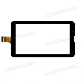 YDT1204-A5 Digitizer Glass Touch Screen Replacement for 7 Inch MID Tablet PC