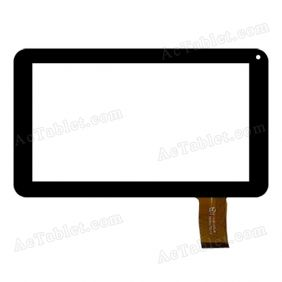 HK90DR2027 Digitizer Glass Touch Screen Replacement for 9 Inch MID Tablet PC