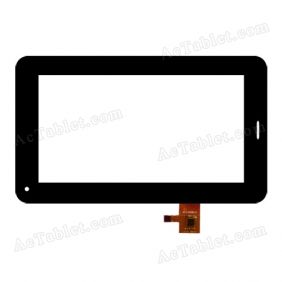 DY-F-07028-V2 Digitizer Glass Touch Screen Replacement for 7 Inch MID Tablet PC