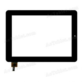 QSD E-C97015-01 Digitizer Glass Touch Screen Replacement for 9.7 Inch MID Tablet PC