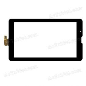 0482-V04(H) F0457 Digitizer Glass Touch Screen Replacement for 7 Inch MID Tablet PC