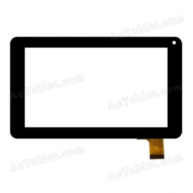 YJ86V-V0 Digitizer Glass Touch Screen Replacement for 7 Inch MID Tablet PC
