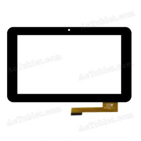 TPC-50200 V1.0 Digitizer Glass Touch Screen Replacement for 7 Inch MID Tablet PC