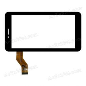 FM710301KA Digitizer Glass Touch Screen Replacement for 7 Inch MID Tablet PC
