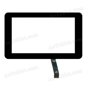 PB70A8705 KDX Digitizer Glass Touch Screen Replacement for 7 Inch MID Tablet PC