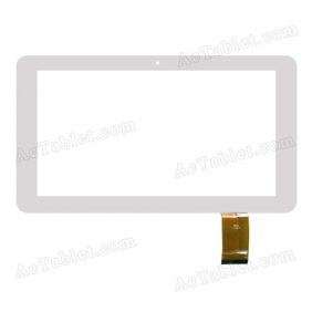 QSD E-C10002-03 Digitizer Glass Touch Screen Replacement for 10.1 Inch MID Tablet PC