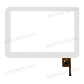 YTG-P10008-F5 Digitizer Glass Touch Screen Replacement for 10.1 Inch MID Tablet PC