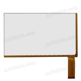 BSR013-V0 Digitizer Glass Touch Screen Replacement for 7 Inch MID Tablet PC