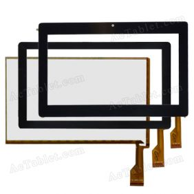 ZCC-1948 V2 Digitizer Glass Touch Screen Replacement for 7 Inch MID Tablet PC