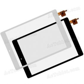 WGJ7802-V1 Digitizer Glass Touch Screen Replacement for 7.9 Inch MID Tablet PC