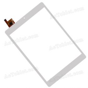 AD-C-801092-GG-V01 Digitizer Glass Touch Screen Replacement for 7.9 Inch MID Tablet PC